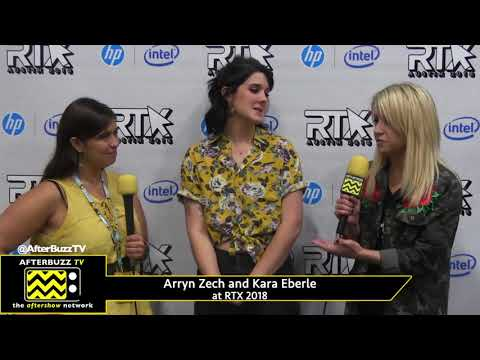 Arryn Zech And Kara Eberle Talk RWBY Volume 6 At RTX 2018