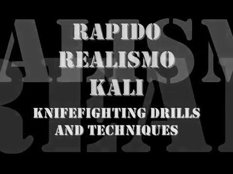 Filipino Knife Fighting : Rapido Realismo Kali Image 1