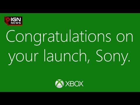 IGN News - Microsoft Tweets Sony Congrats on PS4 Launch