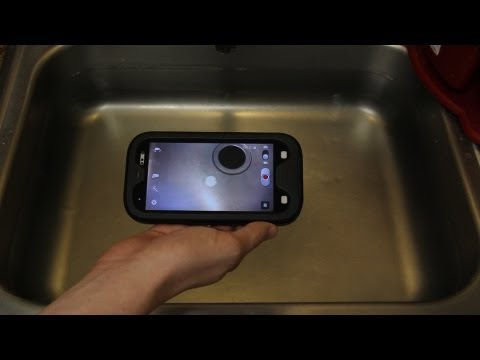 Samsung Galaxy S III Submerged In Water (While Recording) Seidio OBEX Waterproof Case