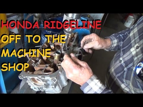 Honda Ridgeline - Quick Trip To The Machine Shop