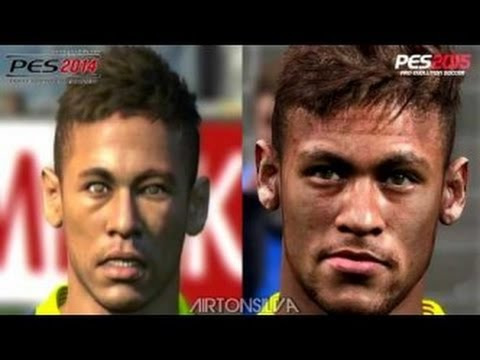 PES 2014 VS PES 2015 | ¡Comparativa caras de jugadores! | (PS4/Xbox One/ PC)