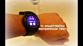 Is The Y1 Bluetooth Smartwatch Waterproof? (Y1 Smartwatch Waterproof Test)