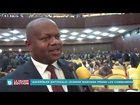 Le bureau de l'Assemblée national affiche complet, Jeannine Mabunda prend le commandement