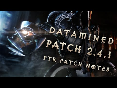 Diablo 3 2.4.1 Season 6: Patch Notes (PTR Datamined)