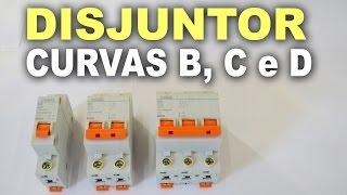 Curvas B, C e D para disjuntores termomagnéticos!