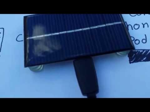 Cargador solar para celular