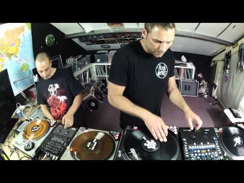 DNS & IRIE - BACK ONCE AGAIN (Turntablism Routine)