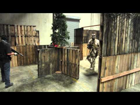 CQB CITY AIRSOFT ACTION October 7th 2012 (Systema ptw TM Hi Capa Elite Force)