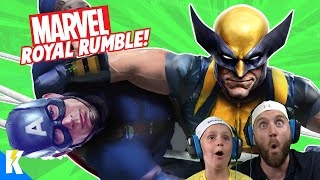 Marvel Superheroes Royal Rumble in WWE 2k19 with Wolverine! K-City GAMING