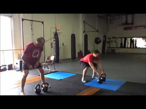 Kettlebell Workout of the Week Episode 56 - The Power Clean and Press Image 1