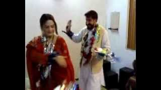 ghzala javed 1st wedding