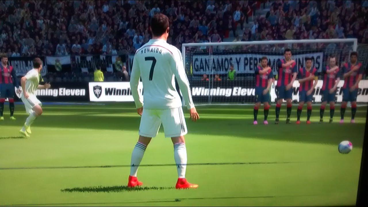 free kick ronaldo