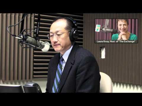 """President Kim on New Hampshire Public Radio's """"The Exchange"""""""