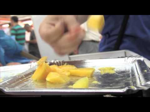 Degustación de mango TROPS 2012 en Valencia