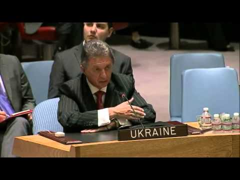 Ukraine's ambassador in UN replies to cynical proposition of Russia to help. (English)