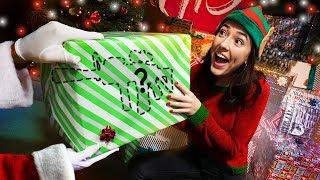 NERF Christmas Mystery Box Challenge!