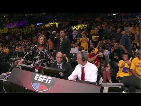 Van Gundy hipocrite -- mocks award received by Gasol (Closed Circuit feed / off-air)