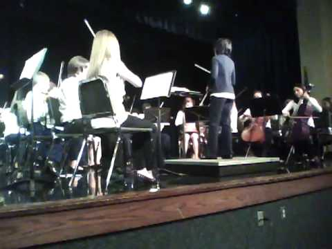 """Awtrey Middle School 7th Grade Orchestra Performance - """"Red Peppers"""""""