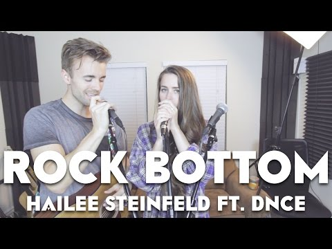 ROCK BOTTOM (Ed Sheeran Style) | Hailee Steinfeld (ft. DNCE) | Kenzie Nimmo One-Take Cover
