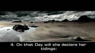 Emotional recitation  ----- Az-zilzal ( The convulsion)