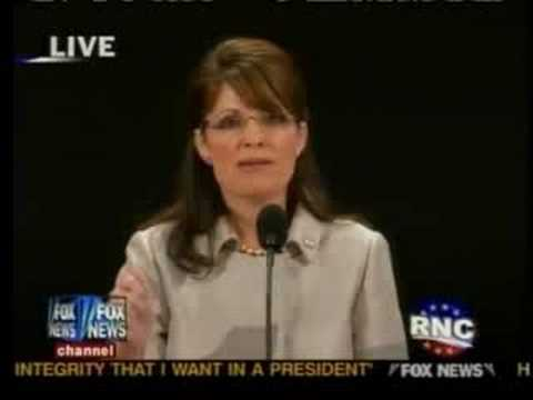 Sarah Palin: Pt 4,RNC,Minneapolis,McCain,obama,Pelosi,DNC