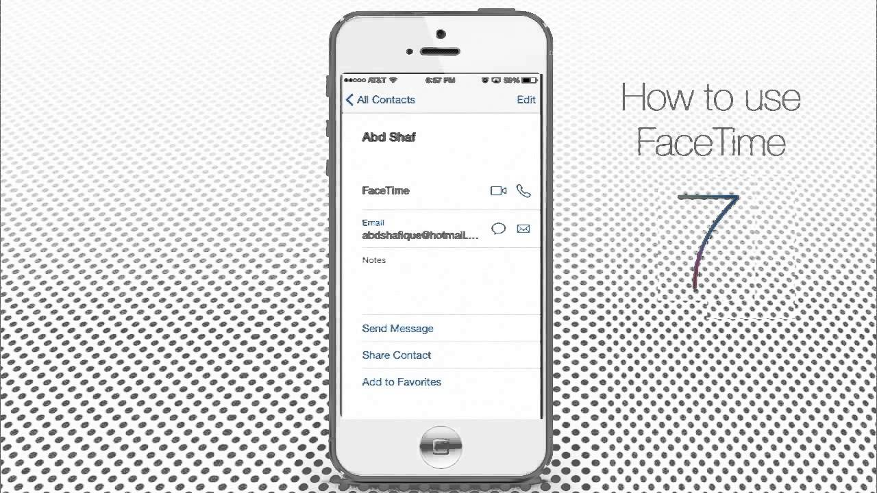 how to make face call iphone 4