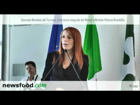 Giornata Mondiale del Turismo: intervento integrale del Ministro Michela Vittoria Brambilla