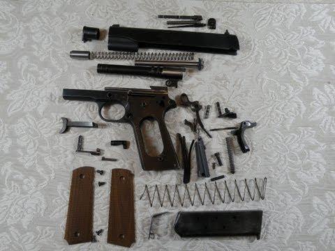 Pistola 1911 - Desarme Completo - Springfield 1911 A1