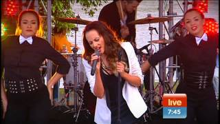 Samantha Jade - Firestarter on Sunrise (28.06.2013)