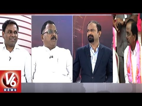 Special Debate On KCR Gadwal Public Meet | Good Morning Telangana | V6 News