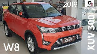 Mahindra XUV 300 W8🔥 | detailed review | features | specs | price !!!