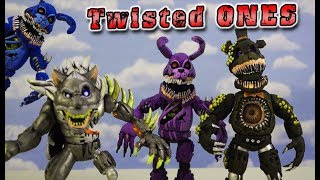 FNAF Twisted Ones TWISTED SET Toy Bootleg Funko Articulated Action Figures Five Nights at Freddy's