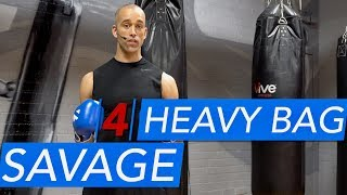 Savage Boxing Heavy Bag Workout 4