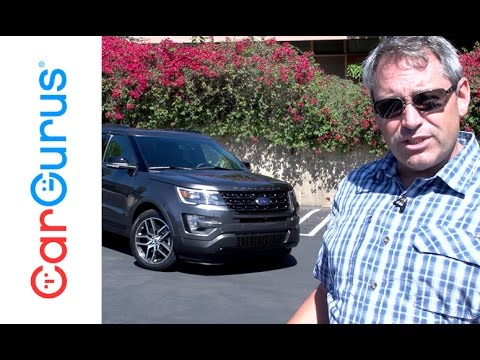 2016 Ford Explorer Sport   CarGurus Test Drive Review