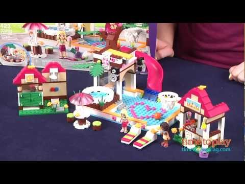 Lego Friends Heartlake City Pool Instructions More Information