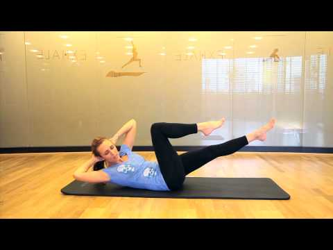 Pilates week 3 - Criss Cross