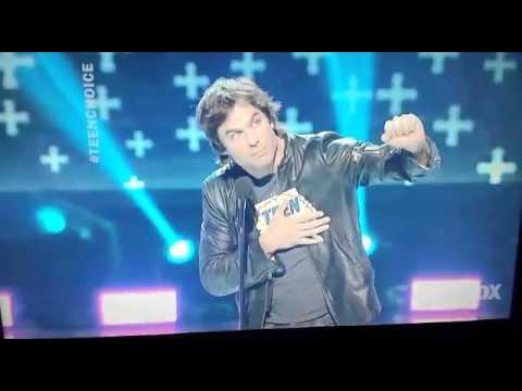 Ian Somerhalder at Teen choice awards 2014