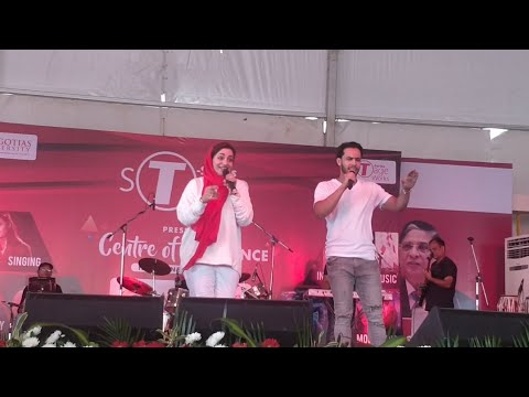 Asma Mohmmad Rafi from Saregama Sings Live at Galgotias University |  T-Series Stageworks Academy