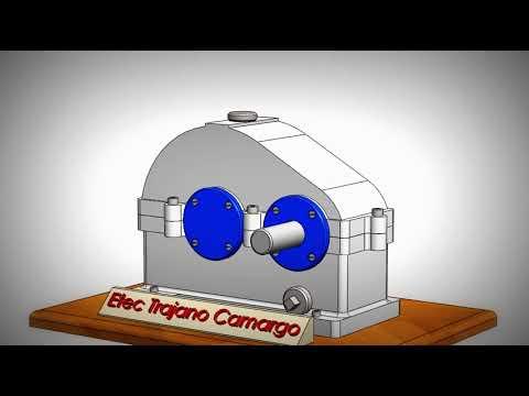 Redutor de Velocidade - SolidWorks - Etec Trajano Camargo