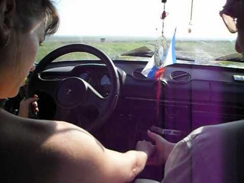 Видео как ездить на машине