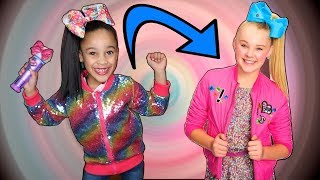 Cali Transforms into JoJo Siwa!