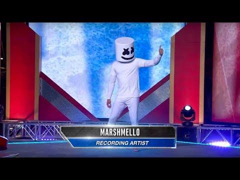 Download Marshmello vs. American Ninja Warrior - Will Mello Prevail? Mp4 baru