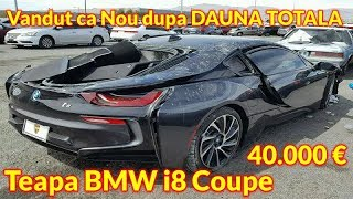 Mesaj de la un Samsar cu un BMW i8 de 40.000 € Cum se da Teapa