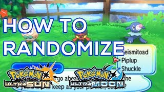 How To Randomize Pokemon Ultra Sun and Ultra Moon