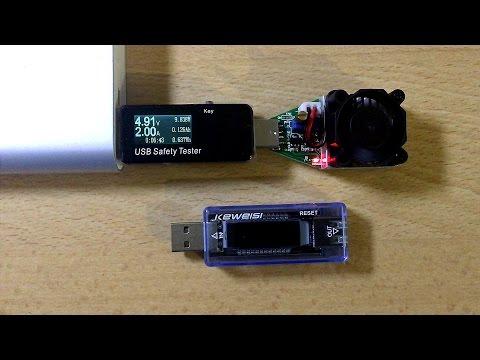 USB-тестер напряжения, тока и емкости для батарей и блоков питания. USB-нагрузка с регулятором тока