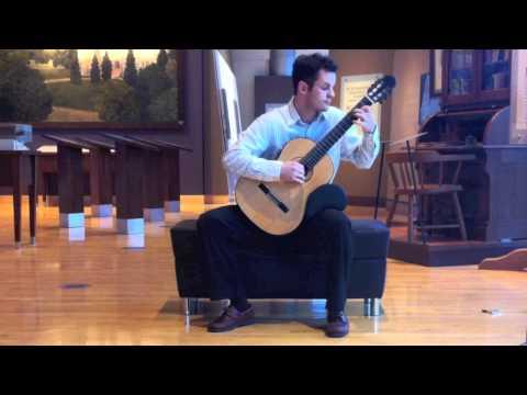 Jaxon Williams- Giulio Regondi: Etude No 1
