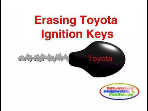 Erasing Toyota Ignition Keys