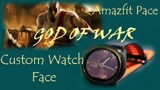 Amazfit - How to add custom watch face on amazfit pace smart watch