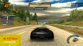 NFS Hot Pursuit 2 (HP2) - Single Challenge - National Forest (Insane driving) - Ferrari 360 Spider